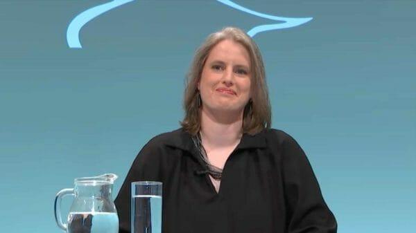 Insa Wilke (Foto: Screenshot/ORF)