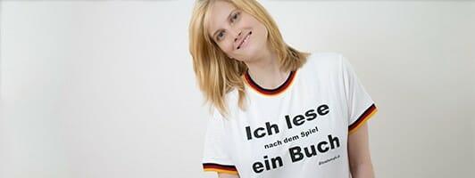 Unser T-Shirt für Fußballliteraten