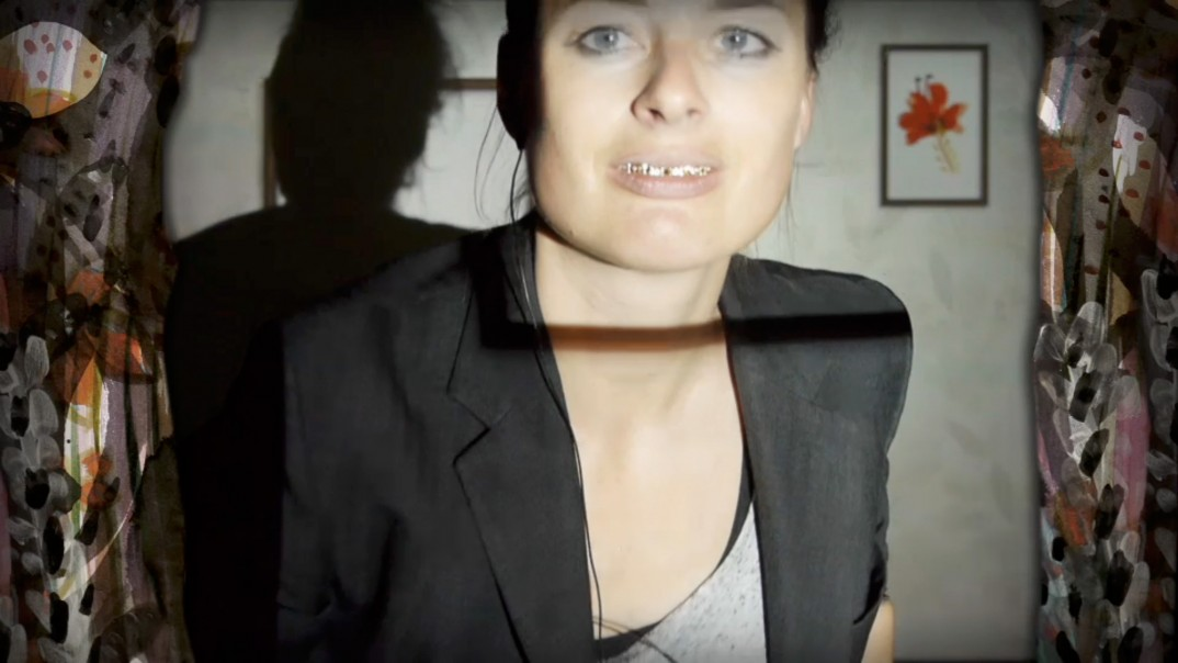 Screenshot aus dem Video von Teresa Präauer