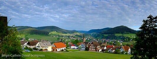 Hier findet das Shooting statt: Baiersbronn im Schwarzwald (Foto: Birgit-Cathrin Duval)