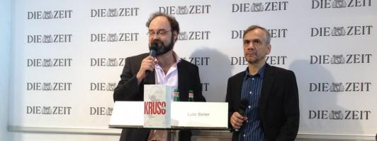 Lutz Seiler (rechts)