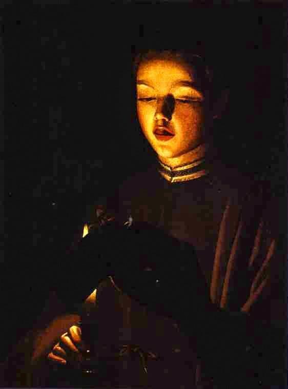 Der junge Sänger von √Georges de la Tour (um 1650)