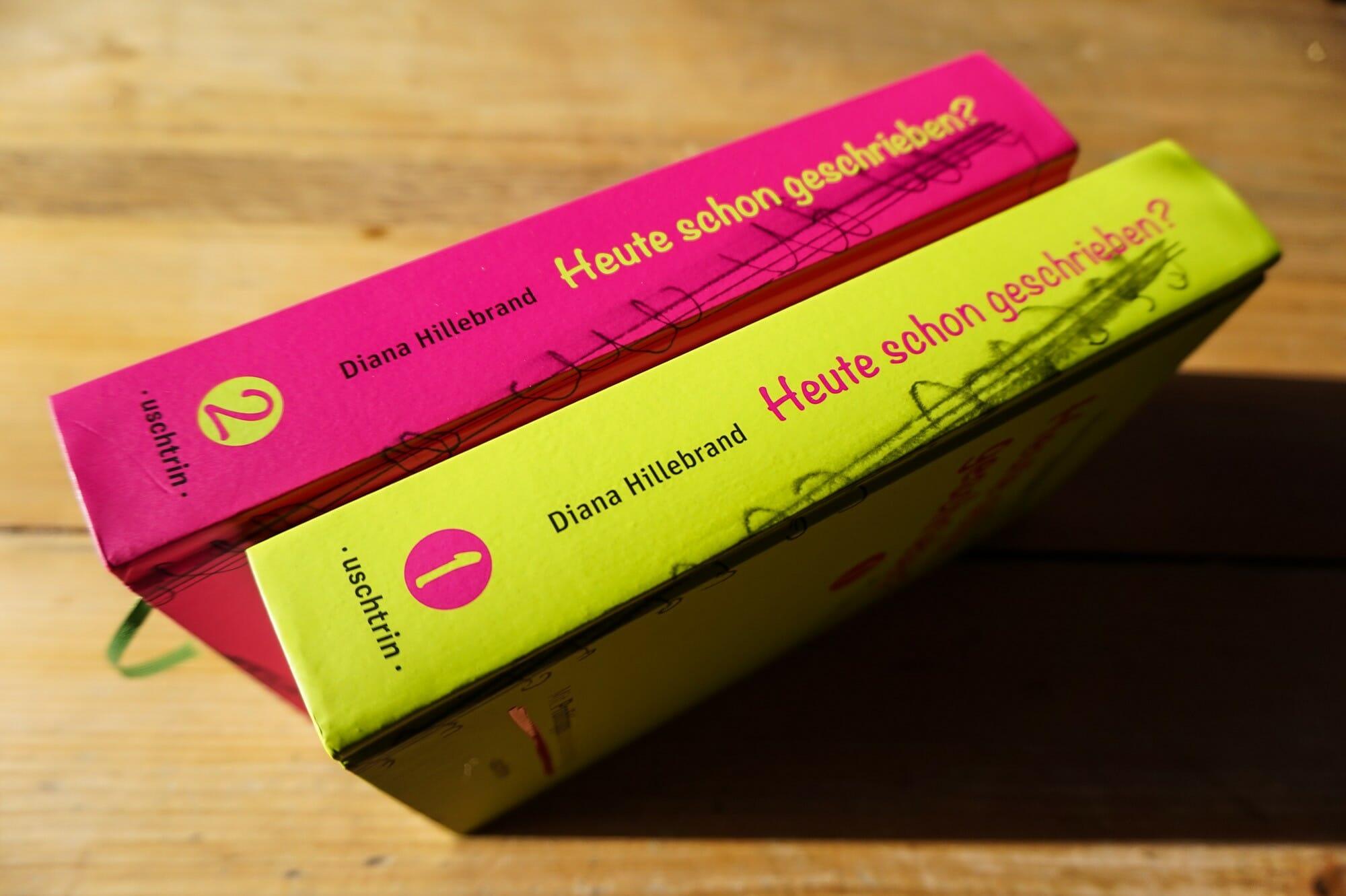 Schreibratgeber von Diana Hillebrand: Heute schon geschrieben?