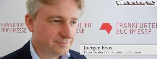 Buchmesse-Direktor Juergen Boos im Interview