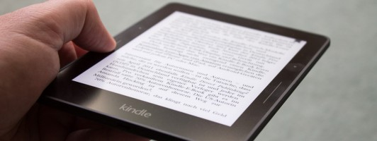 Luxusklasse. Der Kindle Voyage