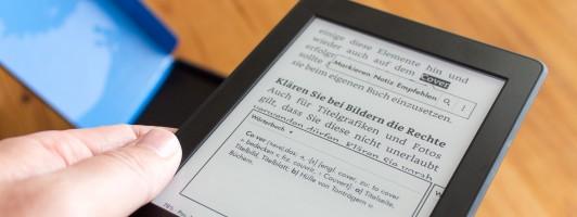 Der Kindle Paperwhite 3 (Modelljahr 2015)