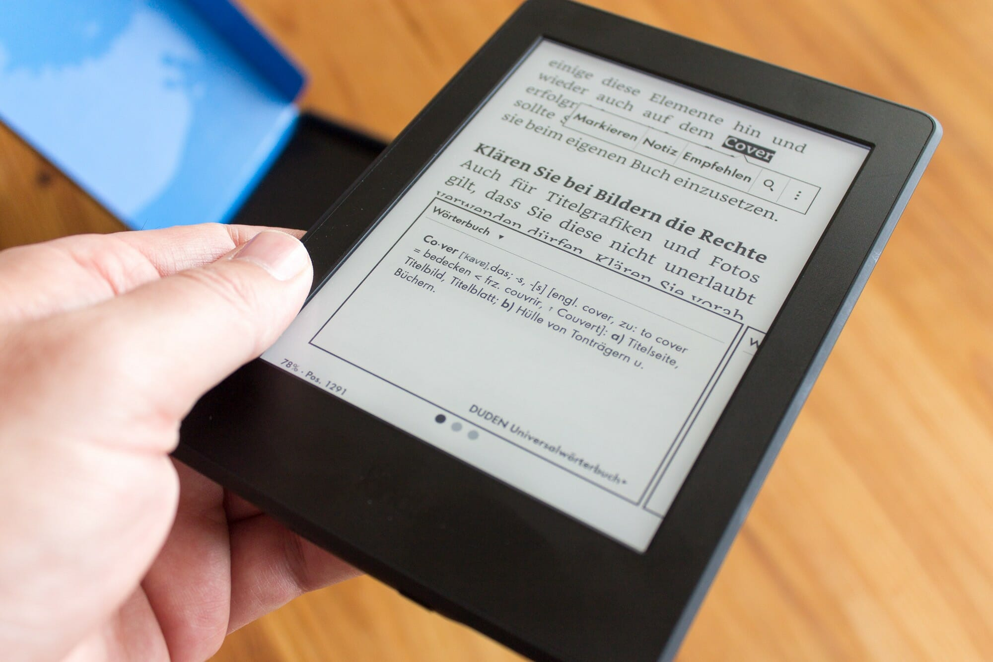 Der Kindle Paperwhite 3 (Modelljahr 2015)