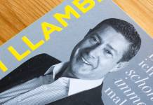 Buchcover: Joachim Llambi