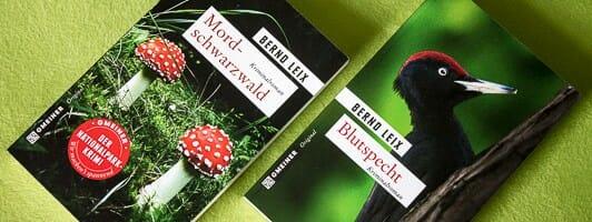 Mordschwarzwald und Blutspecht, die beiden Nationalparkkrimis