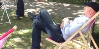 Kann sich 2015 entspannt zurücklehnen: Burkhard Spinnen gehört (freiwillig) nicht mehr der Bachmannpreis-Jury an