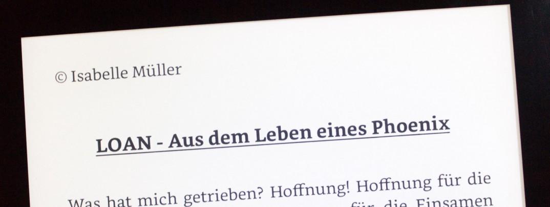 Isabelle Müller: Loan - Aus dem Leben eines Phoenix