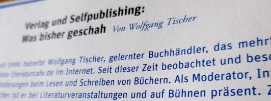 Beitrag von Wolfgang Tischer im Handbuch für Autorinnen und Autoren