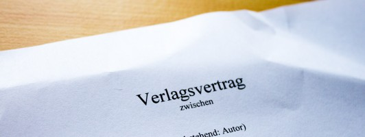 Verlagsvertrag