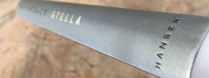 Ein schön gestaltetes Buch: »Stella« von Takis Würger