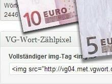 VG-Wort-Zählmarke in WordPress einbauen