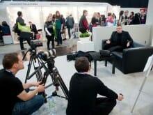 Interview fürs ZDF